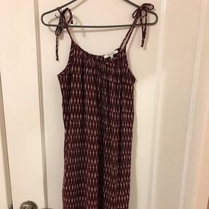 Madewell knee high cami dress